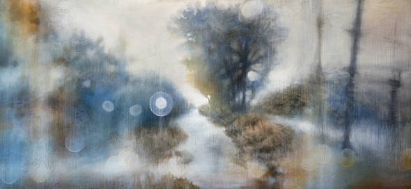 Song for Sleep - Water Paths - 24x60- detail 03 e